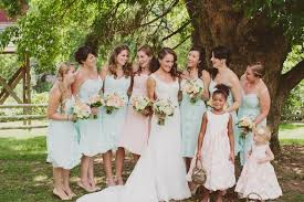 mint green wedding rustic mint green and coral orchard wedding part 1 bridal musings