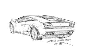 car lamborghini drawing car sketch experiment by 73554b on deviantart