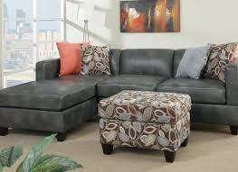 Brown Leather Sectional Sofa by Above Is A Brown Leather Sectional Sofa With Vintage Look S3net