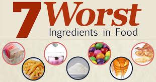 7 worst ingredients in processed foods