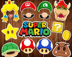 mario party supplies mario party etsy