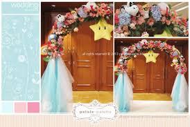 wedding arch kl wedding decoration intercontinental hotel kl wedding