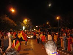 The Flag In Spanish Euro Cup Dispatch From Spain Gooool U2013 Isa Study Abroad Student Blog