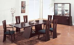 Modern Dining Room Sets For Small Spaces - surprising round modern dining room sets images decoration