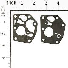 briggs u0026 stratton carburettor diaphragm gasket kit 795083 amazon