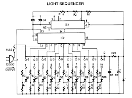 light sequencer led and light circuit circuit diagram seekic