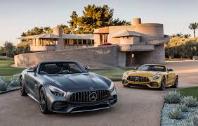 the 2018 mercedes amg gt c roadster scorches arizona the drive