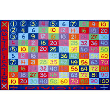 La Rugs Fun Time Multiplication Classroom Rug Ft 143 Great Rug Deal