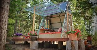 couple builds tiny a frame cabin in three weeks for only 700 a