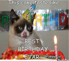 Birthday Meme Cat - grumpy cat have a good birthday by pokeminecraft meme center