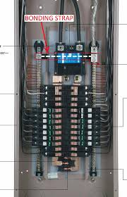 electrical configuring a plug on neutral breaker panel as a