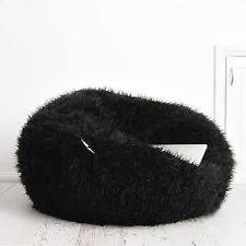 faux fur bean bags u0026 inflatables ebay