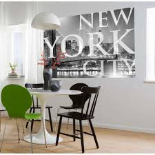 Dining Room Murals Komar 50 In X 72 In New York City Wall Mural 1 614 The Home Depot