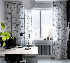 Panel Drapes Ikea Ikea Curtains With Birds Decorate The House With Beautiful Curtains