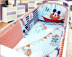 Mickey Mouse Crib Bedding Sets Mickey Mouse Crib Bedding Set For Baby 3matresspillow S Disney