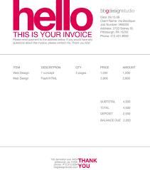 contoh faktur invoice tagihan dengan desain menarikayuprint co id