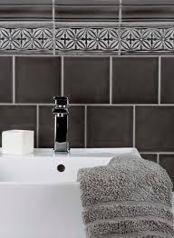 Black And White Border Tiles