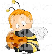halloween kid clipart royalty free halloween costume stock bee designs