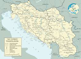 Map Of Serbia Map Of The Former Yugoslavia