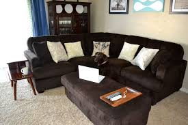 50 Beautiful Living Rooms With Ottoman Coffee Tables by Using Ottoman As Coffee Table
