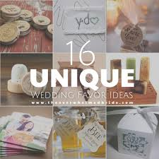 unique wedding favors unique wedding favor ideas the overwhelmed