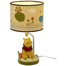 winnie the pooh table lamp for chic kids bedroom idea creating