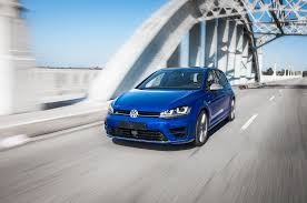 volkswagen golf blue 2015 volkswagen golf r euro spec first test motor trend
