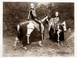 vintage halloween skeleton happy halloween to all the cabers the classic and antique