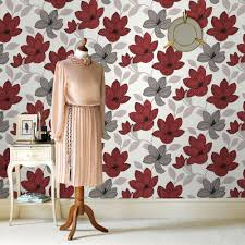 graham u0026 brown superflora red wallpaper red wallpaper wallpaper