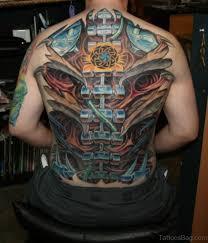 84 amazing biomechanical tattoos on back