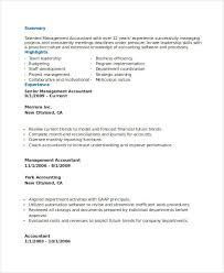 Accounting Job Resume by Awesome Management Accounting Resume Pictures Best Resume
