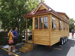 tiny house studio this tiny house on wheels is nicer than most studio apartments