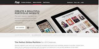 Post Resume Online For Employers by Top 17 Services For Creating An Online Portfolio Website 2017