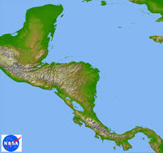 A Map Of Central America by Biodiversity In Belize Topography