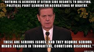Jeffrey Meme - jeffrey r holland on balancing gay rights and religious freedoms