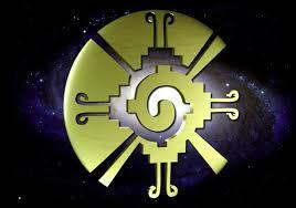 mayan sacred symbol of the galactic butterfly hunab ku this