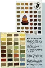 Outdoor Paint Colors by Historic Color Preservation Palette Sherwin Williams
