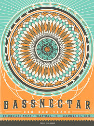 bassnectar nye poster 18x24 official poster for bassnectar s new year s performance