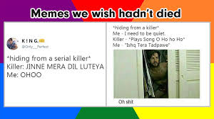 Serial Killer Memes - memes we wish hadn t died hiding from serial killer social ketchup