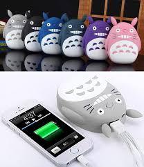 creepy kawaii background my neighbor totoro portable charger so cute lol studio ghibli
