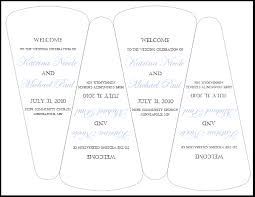 wedding fan programs templates beautiful diy wedding program templates ideas styles ideas