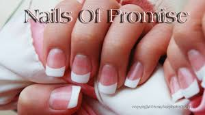 acrylic pink u0026 white tutorial complete step by step nails of