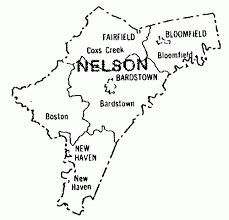 kentucky map bardstown nelson county kentucky s k publications