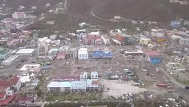 hurricane irma causes destruction on british virgin island of