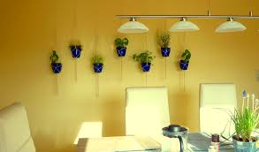 make your own hanging l indoor hanging herb garden dunneiv org
