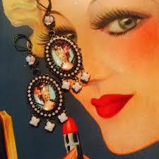 antoinette earrings antoinette earrings picture of moonshine nettie new