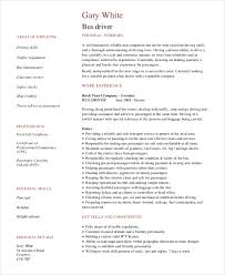 Delivery Driver Resume Examples by Driver Resume Template 6 Free Word Pdf Document Downloads