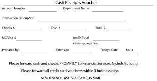 9 free sample receipt voucher templates u2013 printable samples