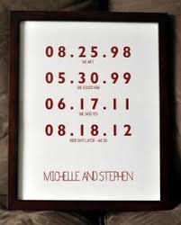 paper anniversary personalized calendar key chain mens boyfriend