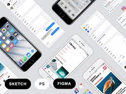 app design free psds u0026 sketch app resources for designers